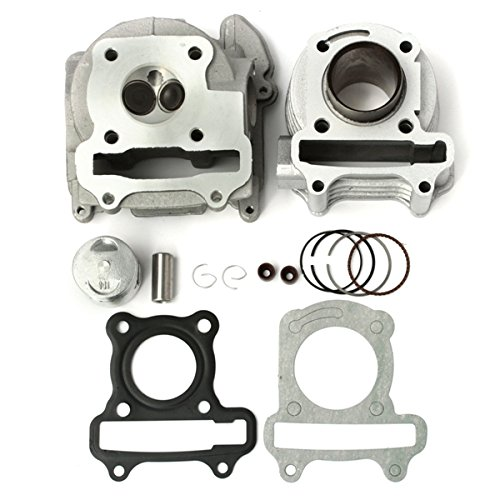 (50cc 60cc 80cc GY6 QMB139 Cylinder Head Piston Rings Set For Scooter)
