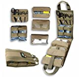 Medical Pack Insert (Coyote Brown) - Fully Stocked