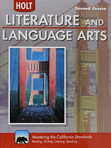 Holt Literature & Language Arts-Mid Sch: Student Edition Second Course 2010 by HOLT, RINEHART AND WINSTON