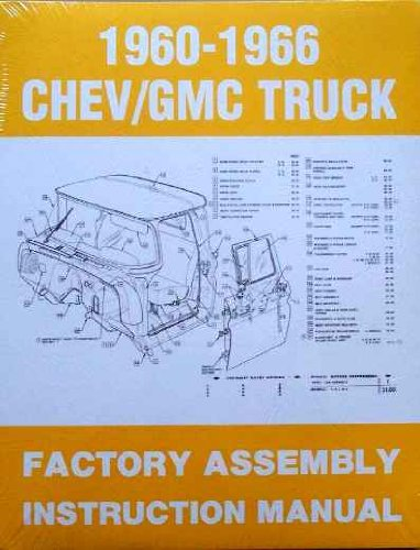 1964 Chevy - 1960-1966 Chevy/GMC Truck Factory Assembly Instruction Manual