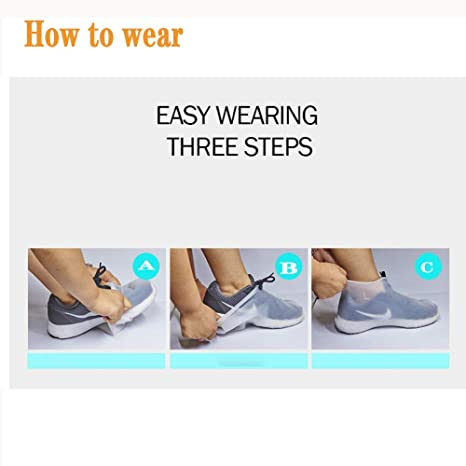 Children And The Elderly Suitable for Adults Comfortable And Wear-Resistant Soft Hahaiyu Shoe Covers Silicone Waterproof Food-Grade Silicone Material Non-Irritating