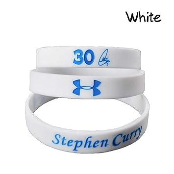 Lorhs store Pulsera del Deporte de la Pulsera de NBA Basketball Stephen Curry Silicone para los