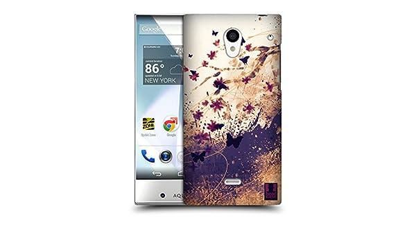 Head Case Designs Kirschblüen flores colirio carcasa para snap-on para Sharp Aquos Crystal 305SH LTE 306SH LTE: Amazon.es: Electrónica