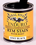 General Finishes Water Based Rtm Stain Tint Base Black Gallon