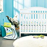 New Baby Safari Elephant 8pcs Crib Bedding Set