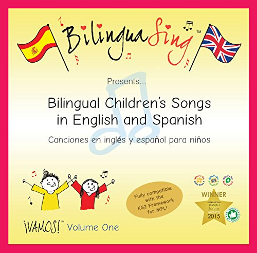 LOVED BY PARENTS! Kids Spanish CD | First Steps in Children's Language Learning | BilinguaSing Spanish Language Learning CD (VAMOS Vol.1)