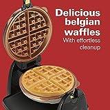 Hamilton Beach Flip Belgian Waffle Maker with