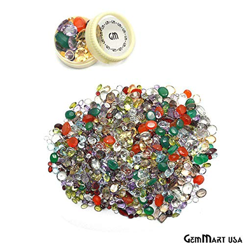 1500+ Carats Loose Mixed Gems Wholesale Lot. Natural Faceted Semi Precious Gemstones. Gemmartusa loose Gemstone by GemMartUSA Loose Gemstone (Image #7)