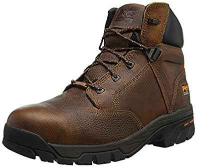 085594214 Timberland PRO Men's Helix Safety Boots - Brown - 5.0 - M
