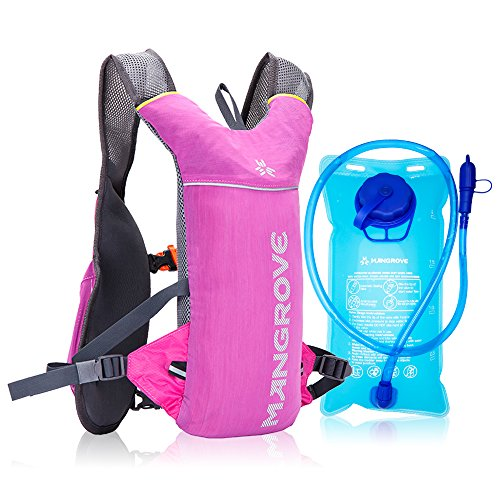 Mangrove Ultralight Hydration Pack With 70 Oz 2L Backpack Water Bladde For Men Women  Hydration Backpack Water Pack For Cycling Hiking Camping Running