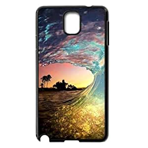 ZK-SXH - Colorful Beach Waves Customized Hard Back Case for Samsung Galaxy Note 3 N9000, Colorful Beach Waves Custom Phone Case