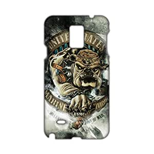 Angl 3D Case Cover usmc devil dog Phone Case for Samsung Galaxy Note4 wangjiang maoyi by lolosakes