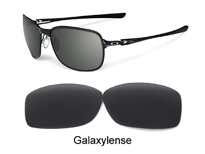 90d5d45ad5 Amazon.com  Galaxy Replacement Lenses For Oakley C Wire New (2011)  Sunglasses Black Polarized  Clothing