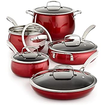 Amazon Com 11 Piece Quality Home Cookware Set By Belgique