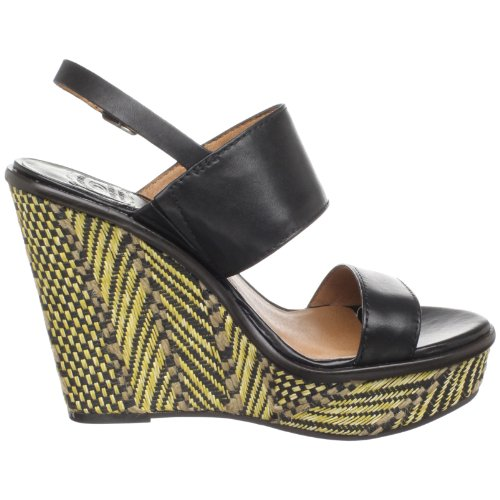 Lucky Women's Lucky Maris Black Women's Wedge 5Fx0q
