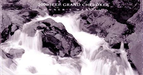 bishko automotive literature 2000 Jeep Grand Cherokee Owners Manual User Guide Reference Operator Book Fuses