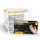 GlovePlus Industrial Clear Vinyl Gloves, Case of