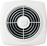 Broan-Nutone  508  Through-the-Wall Ventilation Fan, White Square Exhaust Fan, 7.0 Sones, 270 CFM, 10'
