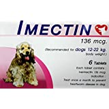 Shop 24hours Product Offering IMECTIN prevent Wormer Heartworm disease for dogs 26 - 48 Pounds.