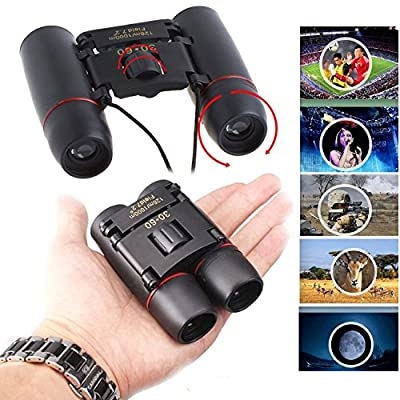 MONOTELE® 30x60 Compact Mini Portable Binoculars Telescopes Day & Night Vision foldable Christmas Gift