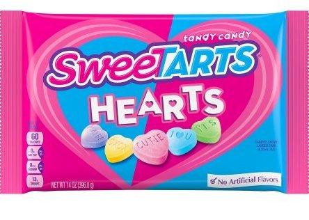 Sweetarts Hearts 14 Oz. Bag (Sweetarts Hearts)