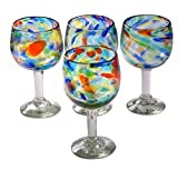 Cheap Orion Solid Confetti 16 oz Large Wine Glass – Set of 4