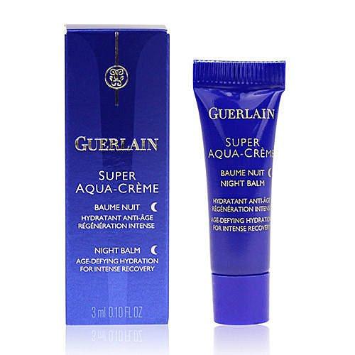 Guerlain Super Aqua-Creme Night Balm 3ml x 10 tubes (30ml) Travel Size