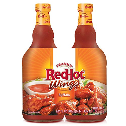 (Frank's RedHot Wings Buffalo Sauce, 2 pk./23 oz. )