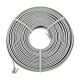 GE TL86582 Phone Line Cord, 100 Ft. (White)