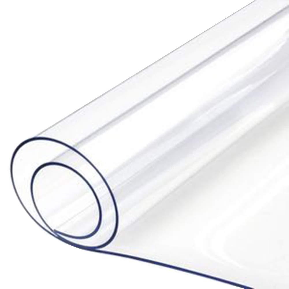 Clear 2x3m ZEMIN BÂche Prougeection Couverture Imperméable Pare-Brise Garder Au Chaud Transparent Serre Fleurs Boutonnière PVC, 12 Tailles (Couleur   Clear, Taille   2x2m)