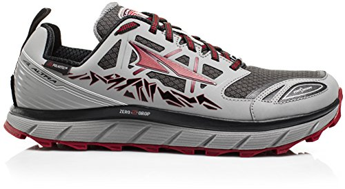 Altra Lone Peak 3.0 Low Chaussure Néo - Homme Gris / Rouge