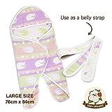 hipopipo Baby Wearable Blanket, 5 Layered