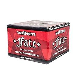 Valken Fate Paintballs .50 Caliber-Yellow/Yellow/White