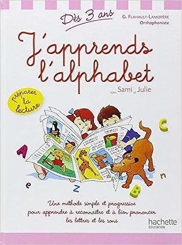 Téléchargement J'apprends l'alphabet avec Sami et Julie pdf