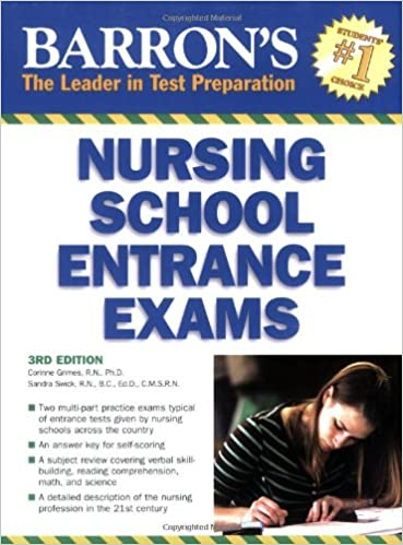 Barrons Nursing School Entrance Exams Barrons How To Prepare For