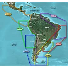 Garmin BlueChart g2 Vision Central America West Saltwater Map microSD Card
