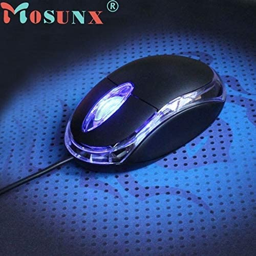 RENKUNDE USB 3D Ray Mouse and Mouse for MAC PC Laptop Laptop Mouse