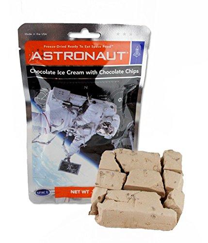 Astronaut Ice Cream Double Chocolate Chip Freeze Dried Food 4 Packs