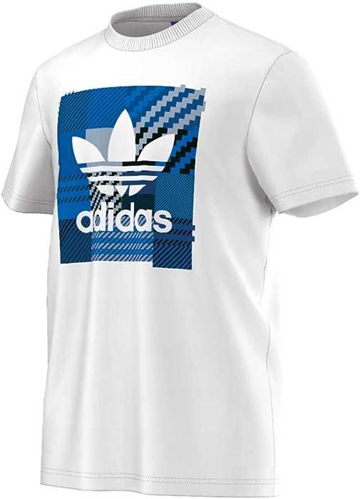 Adidas T Shirt Men IMPO Check AZ1029 Weiß, Größe:S: Amazon  zu verkaufen