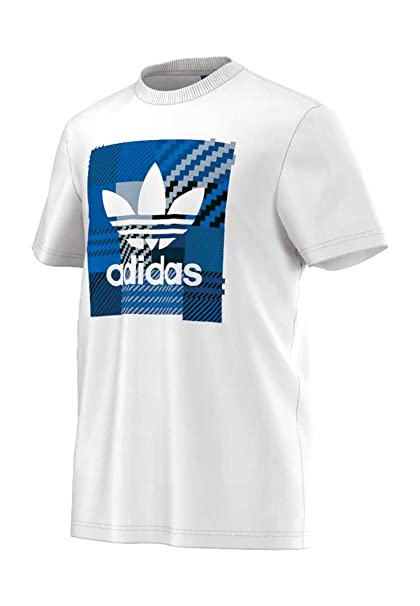 adidas Originals - Camiseta - para Hombre Blanco Blanco 2XL: adidas Originals: Amazon.es: Ropa y accesorios