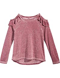 Kandy Kiss Girls Ruffled Pullover Top