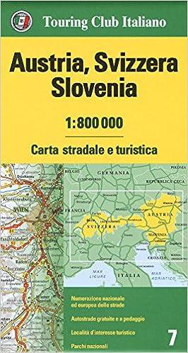 Cartina Autostradale Svizzera.Austria Svizzera Slovenia 1 800 000 Carta Stradale E Turistica Aa Vv Aa Vv Libri Amazon It