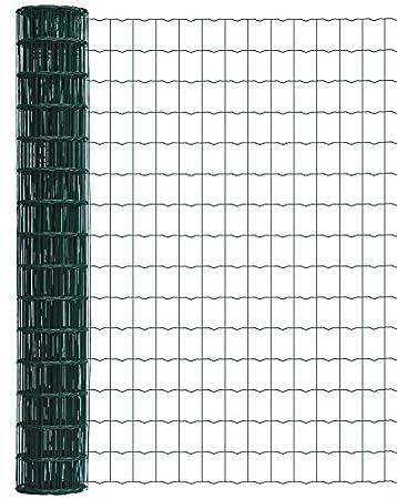 B-Ware Gartenzaun Maschendrahtzaun Gitterzaun Maschung 7,5x5 cm Schweißgitter
