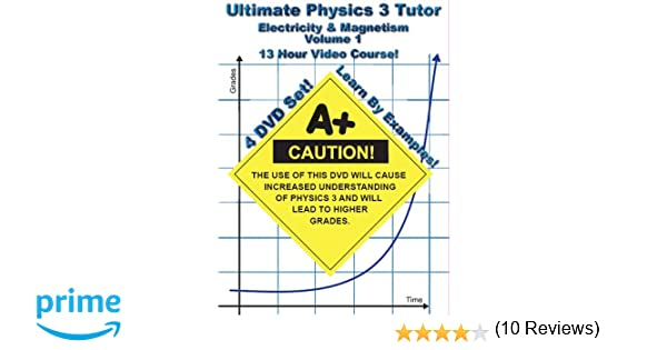 Amazon.com: Ultimate Physics 3 Tutor - Electricity and Magnetism ...