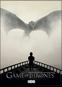 """Ata-Boy Game of Thrones Season 5 Poster 2.5"""" x 3.5"""" Magnet for Refrigerators and Lockers"""