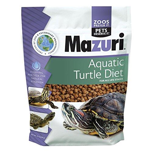 Mazuri Aquatic Turtle Diet Turtle Food, 12 oz Bag