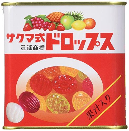 Sakuma's Drops S-15 75 grams Tin Can Made in Japan