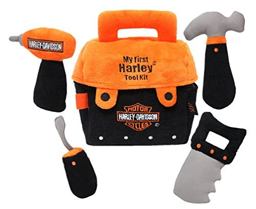 Harley-Davidson Kid's Stuffed Tool Kit, My First Harley Tool Kit 20391