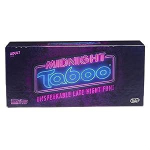 Hasbro Midnight Taboo Game Board Games