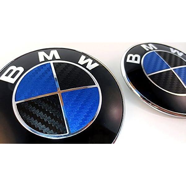 2PCS Car Decal 3D Bmw Logo Badge Crystal 2.16X2.16 Shield Sticker Zine Alloy for All BMW E60 E90 E46 E83 F20 F10 X1 X3 X5 X6 X7 F10 F30 F15 Z4 E70 E71 E87 E92 GT etc JYMAOYI For BMW Emblem